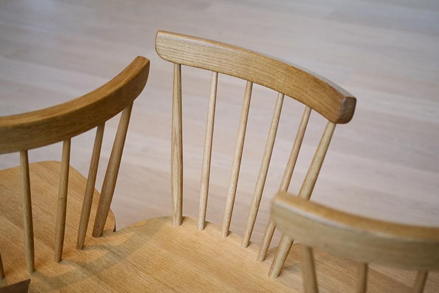 Wood finish on furniture