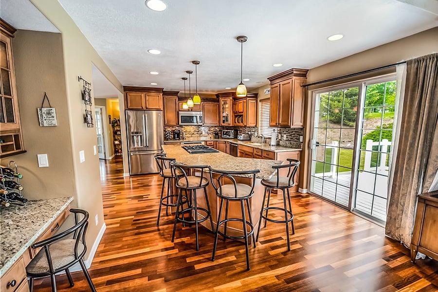 Bespoke wood kitchen
