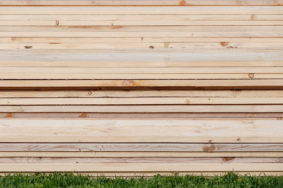 Wood finish exterior