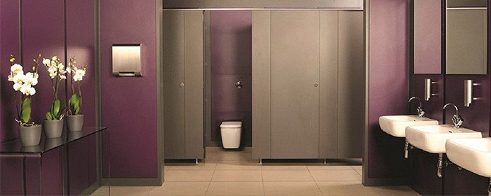 Fitness changing room design