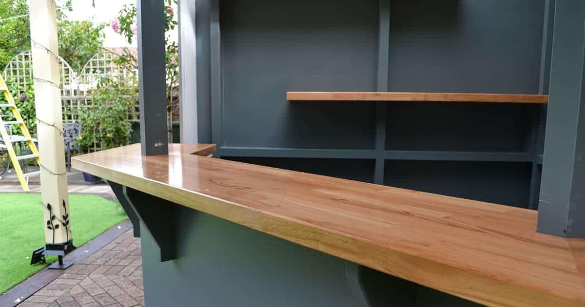 Bespoke garden bar