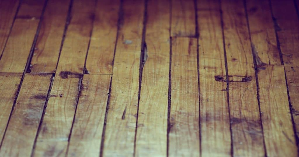 Old wooden flooring