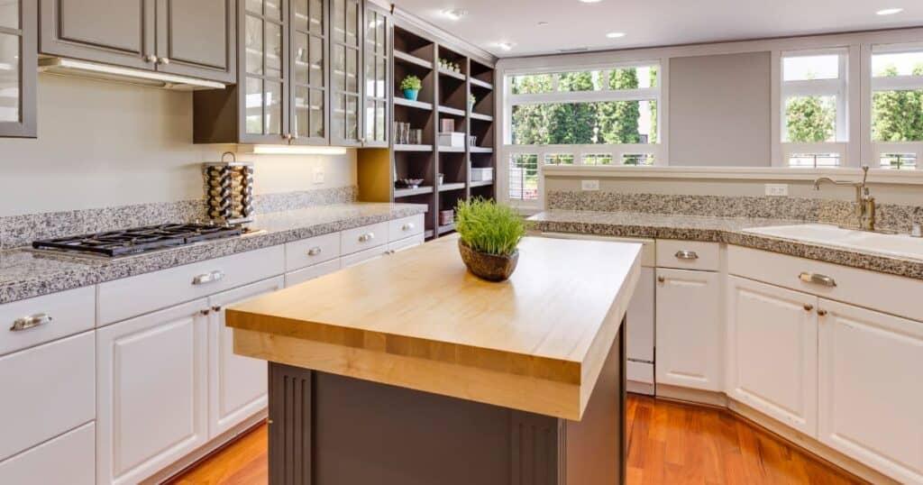 Modern style kitchen cabinets